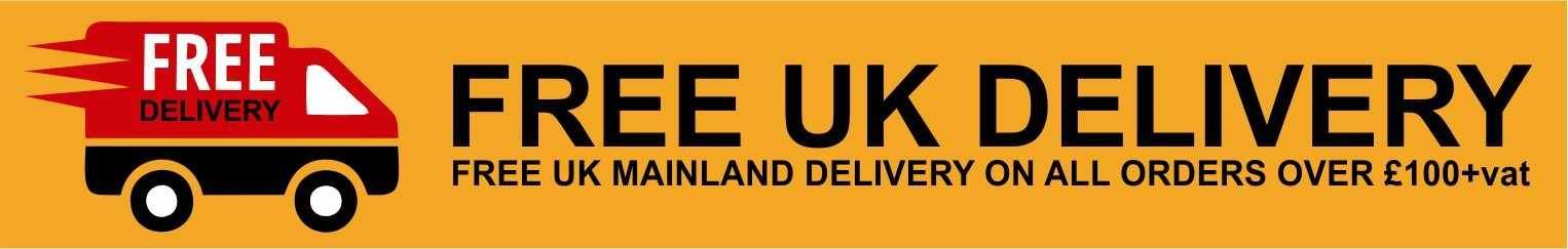 FREE delivery to the UK on all orders over £100